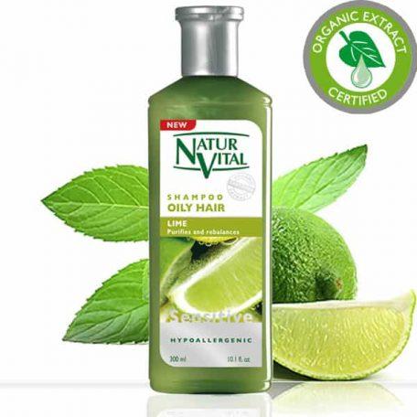 Natur Vital Greasy Hair Shampoo